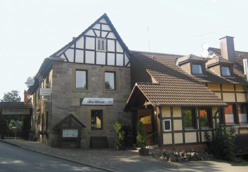 Gasthaus Alte Wiese am Fuße des Eisenbergs
