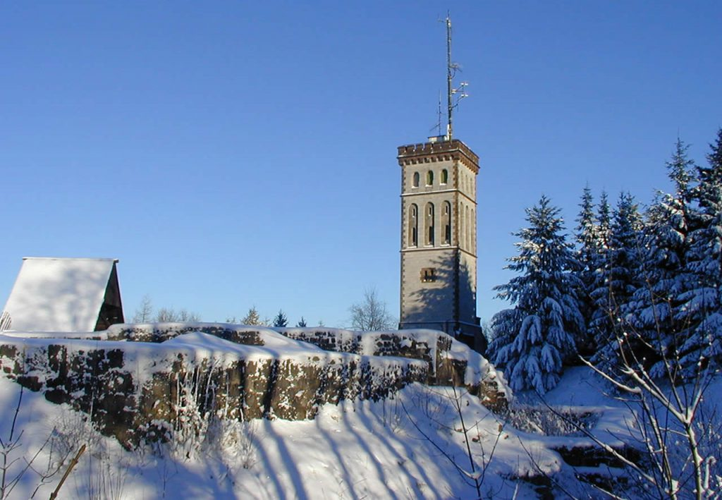 Georg Viktor Turm im Winter