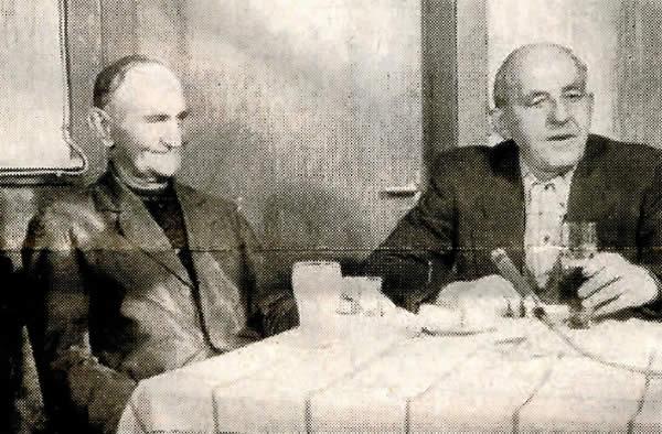 letzte Bergmänner Karl Schmutzer und Willi Krüger