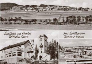Postkarte Gasthaus Saure