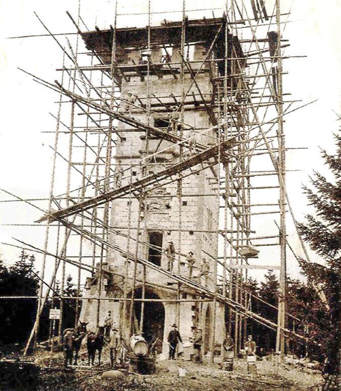 Bau Georg Victor Turm 1905