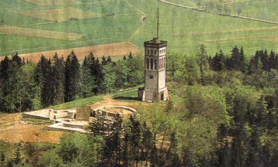 Burg Eisenberg - Ausgrabungen um 1983