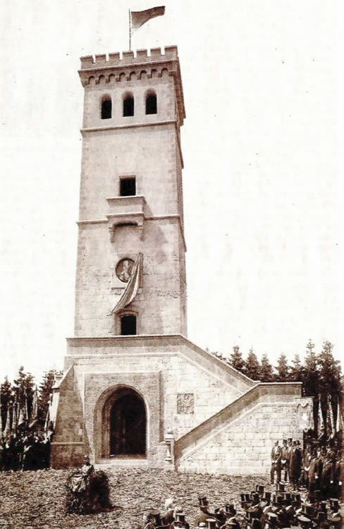 Einweihung Georg Victor Turm