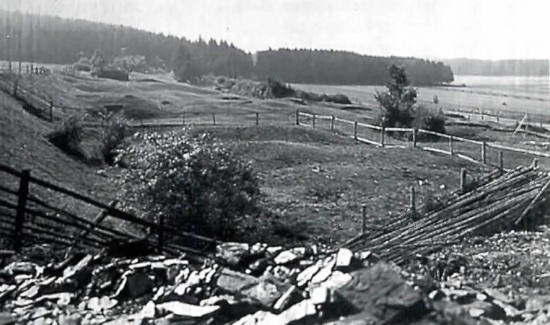 Große Grabenpinge (hist. Aufnahme des mittelalterlichen Tagebaugeländes)