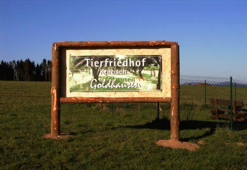 Tierfriedhof Goldhausen