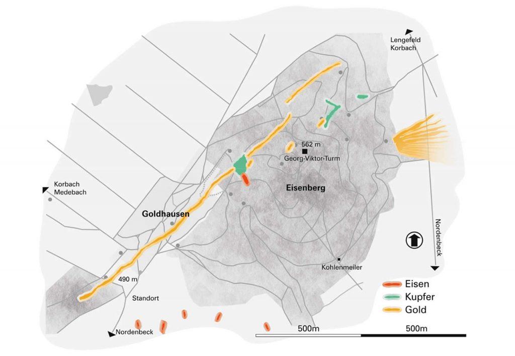 Karte Bodenschaetze im Eisenberg
