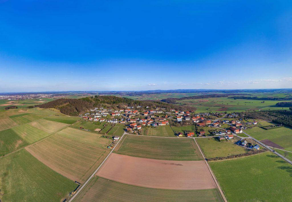 Luftbild von Goldhausen