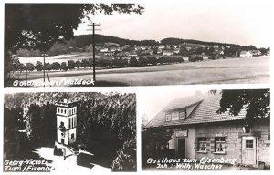 Postkarte Gasthaus zum Eisenberg